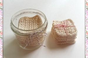Mes tutos – Lingettes Démaquillantes en Crochet