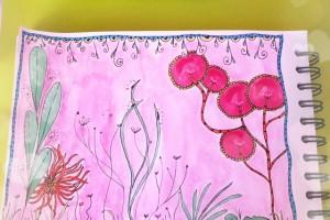 Gribouillages et Fleurs