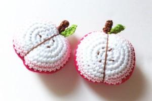 Mes Tutos – Demi-pommes en Crochet
