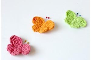 Papillons en Crochet