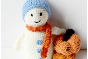 Bonhomme de Neige en Crochet