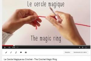 Apprendre le Crochet – la Double Bride et le Cercle Magique