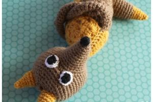 re-loup, renard, loup, crochet, amigurumis, patron crochet, tuto crochet