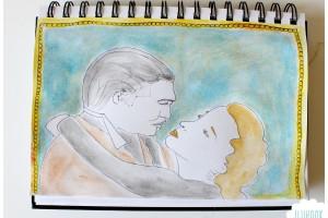 Un baiser de cinéma…