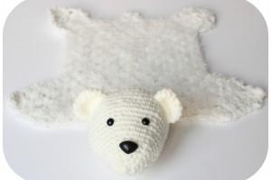 ours, peau d'ours, doudou bébé, crochet, amigurumis, patron crochet, tuto crochet