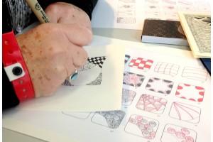 Mes Ateliers Mandalas et inspiration Zentangle à Creativa