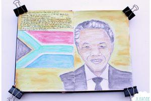 Une page de l'histoire – Nelson Mandela
