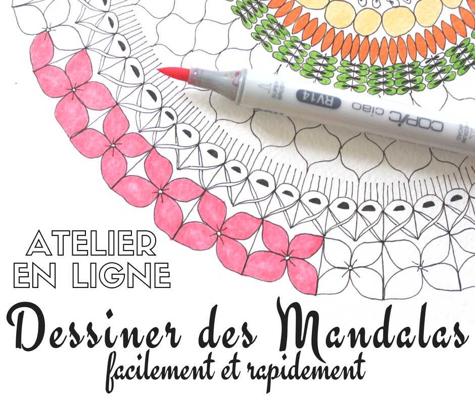 atelier en ligne dessiner facilement et rapidement des mandalas jiji hook. Black Bedroom Furniture Sets. Home Design Ideas