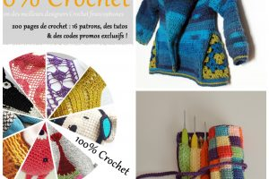 E-book 100% crochet – plus de détails et 2 interviews