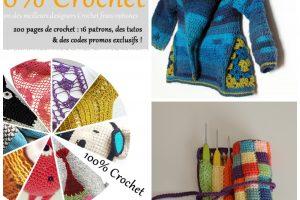 E-book 100% crochet – plus de détails et 2 interviews