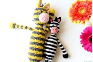 Zèbre en Crochet