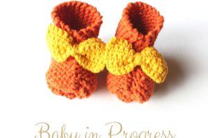 Des chaussons pour mon bébé 3