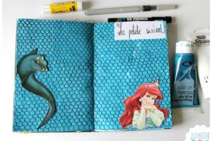 Quelques pages dans mon art journal