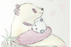 panda, aquarelle, dessin aquarelle, atelier créatif, technique aquarelle, atelier peinture