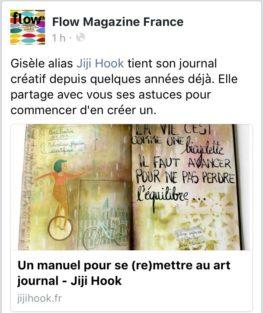 artjournal, diy artjournal, mixed media, creativite, carnet creatif, inspiration artjournal, flow magazine, manuel artjournal, comment faire du artjournal