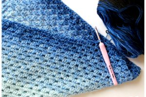 crochet, fil, laine, bergère de france, jijihook, partenariat, partenariat blogueur, unic bergere de france, granny giant, couverture bébé, plaid bébé crochet, couverture crochet