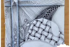 zentangle, dessin facile a faire, gribouillage, dessin zen, zentangle tuto, motif dessin, dessin relaxation, dessin zentangle, motif zentangle, diplome zentangle, czt, tranzending