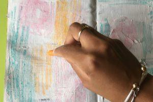 artjournal, atelier artjournal, atelier gratuit artjournal, inspiration artjournal, challenge artjournal, carnet créatif, tuto carnet créatif, texture artjournal, pastel artjournal, picjournal, pastels, fanions, fond de page artjournal