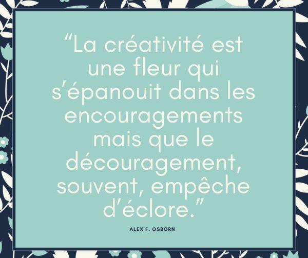 citation inspirante pour les créatifs