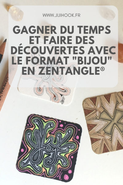 zentangle, format bijou, bijou, atelier zentangle, cours zentangle