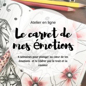 artjournal, carnet créatif, défi artjournal, thème artjournal, expression créative, lâcher-prise, émotions, exprimer émotions, carnet émotions
