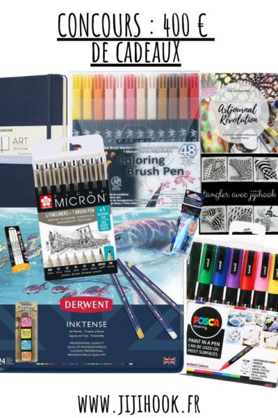concours : 400 euros de matériel créatif à gagner