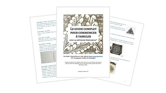 guide gratuit zentangle