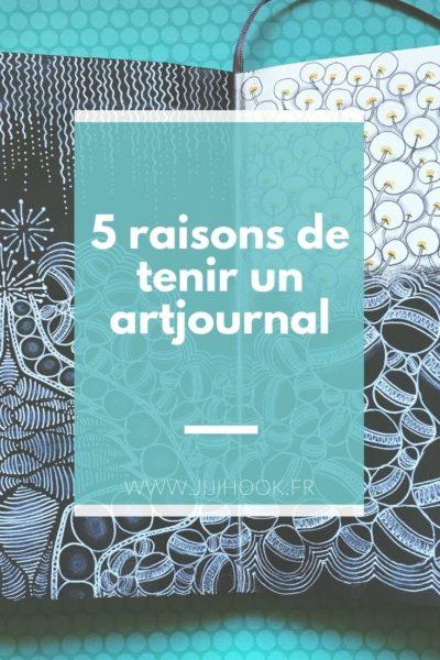 5 raisons de tenir un artjournal